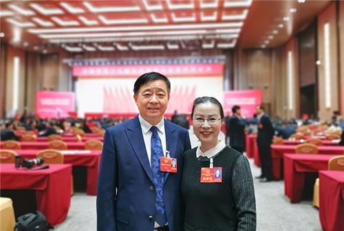 """安惠公司董事长陈惠、副董事长陆汉萍出席南通""""两会"""""""