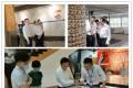 泗阳县国家现代农业产业园管委会主任张小川一行参观安惠公司