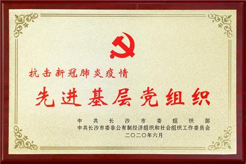 """浏阳经开区召开""""七一""""表彰大会,绿之韵集团被授予""""党建示范点""""等荣誉"""