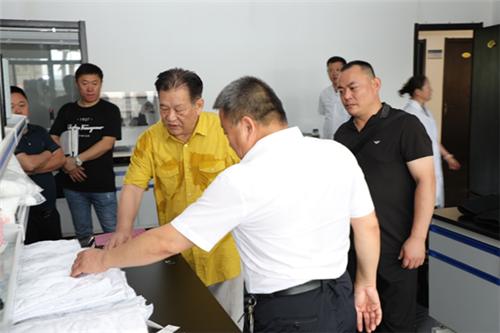 亚太体育总会主席马文广一行莅临安然公司参观调研